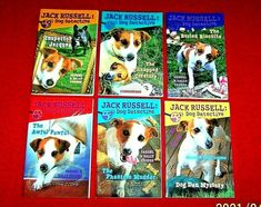 Lot 6 Jack Russell: Dog Detective Chapter Books Level N Odgers Kane Miller Animal Books, Chapter Books, Animals For Kids, Detective, Homeschool, Creatures, Dogs, Ebay, Pet Dogs
