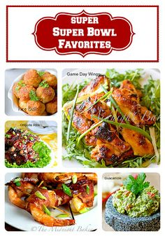 All Recipes on www.bakeatmidnite.com #SuperBowl