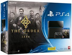 PlayStation 4: Console 500GB B Chassis + The Order: 1886