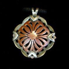 ADP1006 // Divine Love Flower Sterling Silver by CirelloMetalsmith, $225.00
