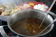 Bouillon à fondue chinoise