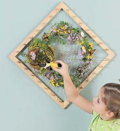 Nature Collage Art Frame
