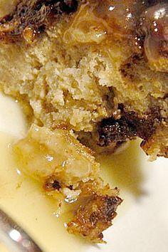 Irish Dark and White Bread Pudding Recipe