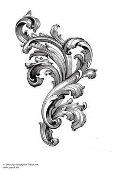 Эскиз тату гравюра | Блог про татуировки pavuk.ink | Filigree tattoo, Filagree tattoo, Baroque tattoo New Tattoos, Tribal Tattoos, Tattoos For Guys, Filigrana Tattoo, Tattoo Design Drawings, Tattoo Designs, Filagree Tattoo, Osiris Tattoo, Molduras Vintage