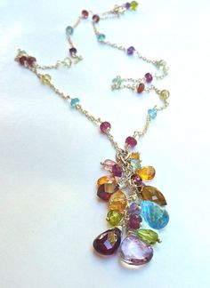 Statement Necklace Bright and Colorful