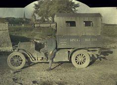 Французский пикап Берг. Северная Франция. 1МВ. 2 сентября 1917 г.