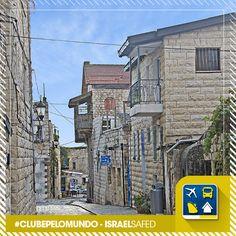 (( Safed, Israel ))  A cidade mais alta da Galileia, um lugar belo, histórico e emocionante.   Venha conhecer o mundo com a Clube Turismo.