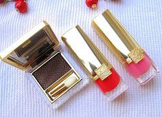 Makeup and Macaroons: Estee Lauder Pure Color Vivid Shine Eyeshadow & Lipsticks