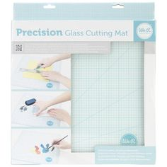 Cut, stamp and create fun mixed media projects with the We R Memory Keepers Glass Cutting Mat. This pack comes with one tempered glass cutting mat with an entire measurement grid. It features a durabl