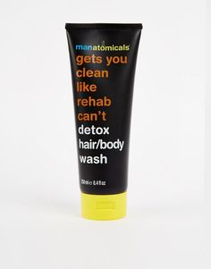 Anatomicals | Manatomicals Gets You Clean Like Rehab Can't Hair & Body Wash at ASOS