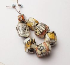 Reserved for Julie  Chunky Luster Gems     7 by DonnaPerlinplim, $32.00