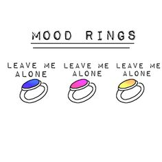 introvert // my mood ring is working perfectly fine, thank you very much. Just For Laughs, Just For You, Whatever Forever, Little Bit, My Mood, Current Mood, Story Of My Life, Introvert, The Funny
