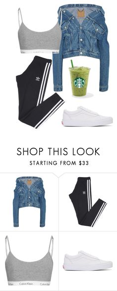 """""""Untitled #54"""" by happyonexd ❤ liked on Polyvore featuring Balenciaga, adidas and Vans"""