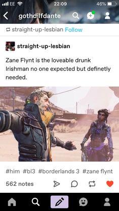 Krieg Borderlands, Borderlands Series, Tales From The Borderlands, Funny Gaming Memes, Funny Games, Stupid Funny Memes, Video Game Logic, Video Games, Fallout New Vegas