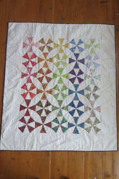 Kaleidoscope Quilt by House-Elf inspired by Lucy M. Boston's Kaleidoscope Quilt http://www.house-elf.co.uk/