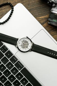 """""""We travel not to escape life, but for life not to escape us."""" The Cranbrook Automatic Watch Collection.  #ESCAPEWatches #FindYourESCAPE #Cranbrook #watch #watches #travel #traveler #travelling #escape #leather #men #style #wristwatch #accessories"""