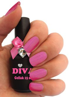 Diva Gel Lak Toscana 15 ml Shellac, Gel Polish, Diva, Nail Art, Amazing, Beauty, Ballerina, Blue Lagoon, Hollywood
