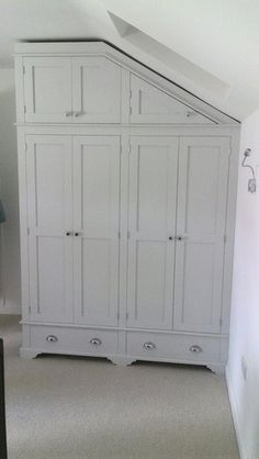 Fitted wardrobes Cornwall. Beautiful handmade fitted wardrobes made to your exact specifications.