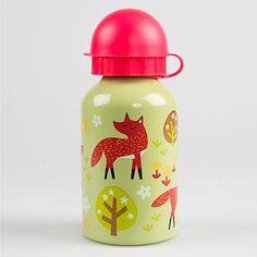 Trinkflasche für Kinder Waldfüchse 300 ml - Sass & Belle - www.lolakids.de