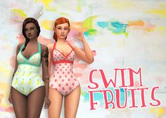 Sims 4 CC's - The Best: Swimsuits by HamburgerCakes