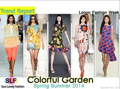 Colorful Garden, S/S2014
