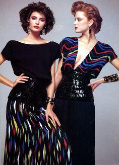joan sever, 1980s model, nanci decker