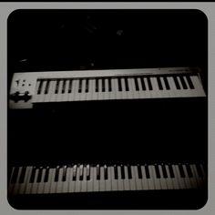 Dark piano.