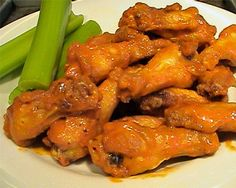 """Buffalo Wild Wings' Wings and Sauce -- Oh, I love these wings *so* much. I am currently missing their lunch """"all you can eat"""" wings special. *sigh*"""