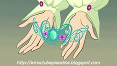 Gifs Winx Club 6: Vortex of Flames - Winx Club, daphne being crowned princess of Domino