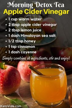 Top 8 apple cider vinegar health benefits and uses - # . - Top 8 Apple Cider Vinegar Health Benefits and Use # Cider Vinegar # detox diet # d - Bebidas Detox, Healthy Detox, Healthy Drinks, Easy Detox, Healthy Water, Healthy Food, Nutrition Drinks, Vegan Detox, Holistic Nutrition