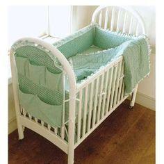 Organizer idea! - Kwik Sew Crib Comforter Bed Skirt Fitted Sheet Bumper Pad & Organizer Pattern