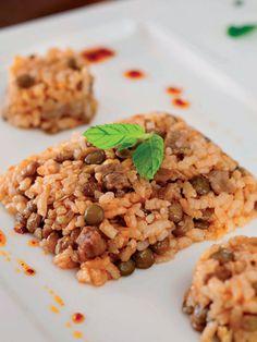 Müceddere pilavı Tarifi - Türk Mutfağı Yemekleri - Yemek Tarifleri