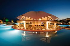 Pool bar and restaurant - Hotel Riu Kaya Palazzo - Holidays - Turkish Riviera