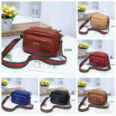 b292ccf6772718 Tas Gucci Selempang AT0017/ VSQ190 Quality : Semipremium Material : KULIT  Bag Size : 24x9x18Cm
