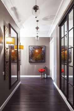 Remarkable Modern Hallway Designs That Will Inspire You With Ideas - Decor Savage Decoration Entree, Decoration Design, Modern Exterior, Exterior Design, Entrance Decor, House Entrance, Entrance Ideas, Entryway Decor, Modern Hallway