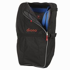 Make transporting all Diono convertible car seats easier with the Diono Car Seat Travel Bag. Simply adjust the padded straps to comfortably wear as a backpack, or use a single strap to carry like a duffel. Car Seat Travel Bag, Travel Bags, Convertible, Car Seat Accessories, Backpack Straps, Waterproof Fabric, Baby Gear, Baby Car Seats, How To Wear
