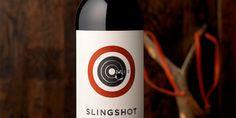 Slingshot Wines (great die cut)
