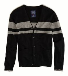 AE Striped Cardigan