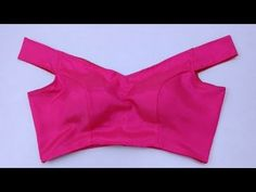 Off-Shoulder Blouse Cutting and Stitching in Easy Style - YouTube