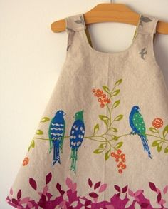 Fabric paint...using a dress as your canvas!..@Amanda Benton Smothers  I bet you could come up with great ideas!
