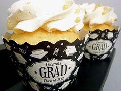 Graduation Party Cupcakes