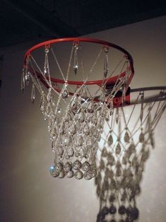 Retro Wallpaper Discover Jana Brevick Ballerism Basketball rim hardware crystal glass brass & nylon line. First shown at Expo SOIL Gallery May Edition of 3 (sold) x x artist photo Boujee Aesthetic, Bad Girl Aesthetic, Aesthetic Collage, Aesthetic Vintage, Aesthetic Photo, Aesthetic Pictures, Bedroom Wall Collage, Photo Wall Collage, Picture Wall
