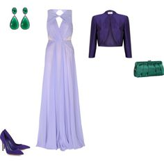 """Cool Summer - pastel violet"" by adriana-cizikova on Polyvore"
