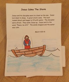 There is another Miracles of Jesus Pop-up book on this site. It is more accurately called That You May Believe. I made this one first for a Bible class. The other one was made for a VBS a couple of years later. They are slightly different because the VBS focused on the... #blindman #feed5000 #jesus