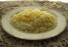 """""""There is a definite art to making Persian rice & I think it's the best rice ever."""" Suzanne """"If Minute Rice is a lifestyle choice, then Persian rice is a religion.&#822…"""