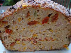 Pain de Viande aux Saveurs Méditerranéenne - Meatloaf in the Mediterranean Flavors