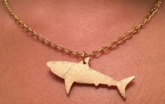 OMG...Get yours - Shark Week Necklace DIY | #darbysmart