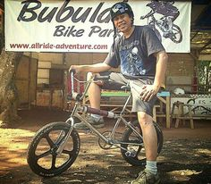 ..never too old to ride BMX..