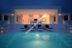 Kalkan Villas for sale - Turkey  I love this modern block open design overlooking a stunning pool.