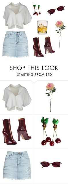 """""""drive-thru movie"""" by imnotbeyonce ❤ liked on Polyvore featuring Vionnet, SONOMA Goods for Life, Valentino, LG, Chanel, Yves Saint Laurent and Jean-Paul Gaultier"""